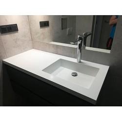 Umywalki prostokątne